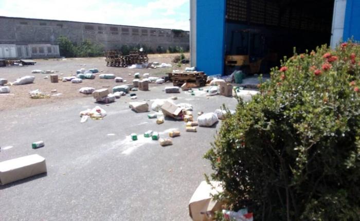 Saqueos en Calabozo causaron destrozos en comercios y un centro de acopio