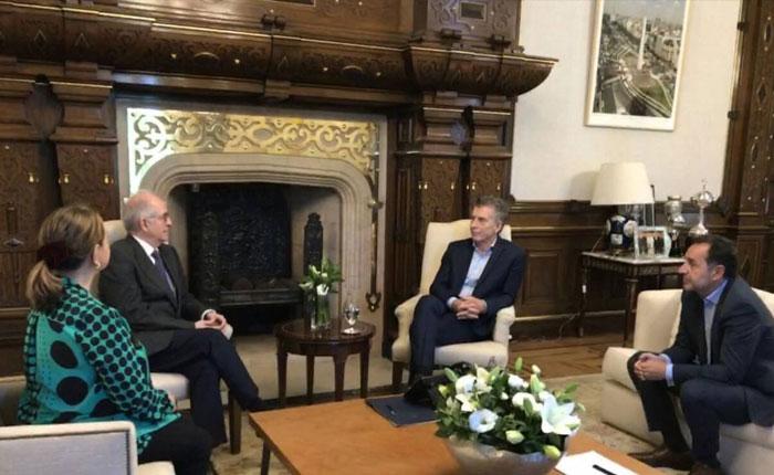 Antonio Ledezma pidió sanciones a Macri para infractores de DDHH en Venezuela