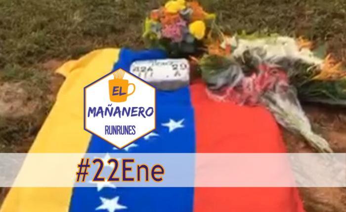 El Mañanero #22Ene: las 8 noticias que debes saber