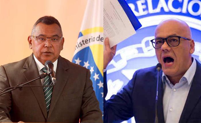 Jorge Rodríguez reculó y desmintió a Reverol sobre caso Oscar Pérez