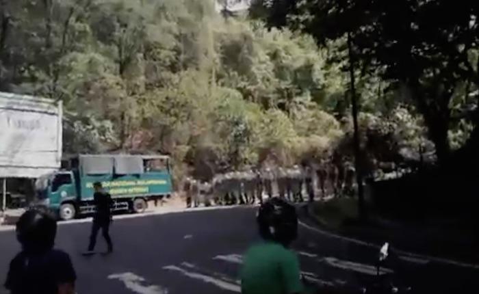 Reportan detonaciones en marcha que exige entrega del cuerpo de Óscar Pérez