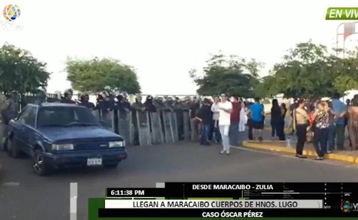 Caso Óscar Pérez: sepultan sin velorio a los hermanos Lugo y a Daniel Soto en Maracaibo