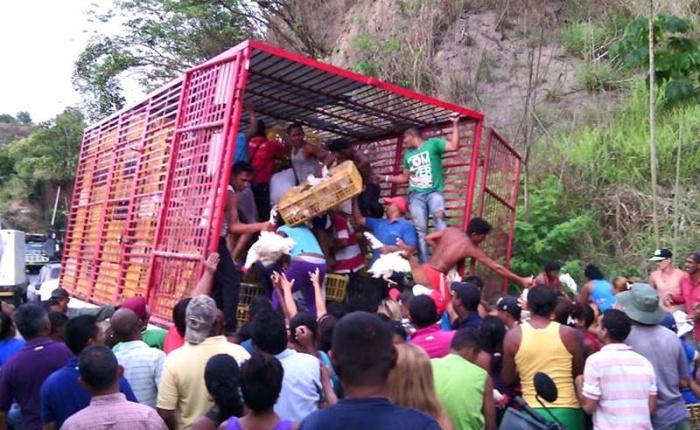 hambre-saqueos-Venezuela