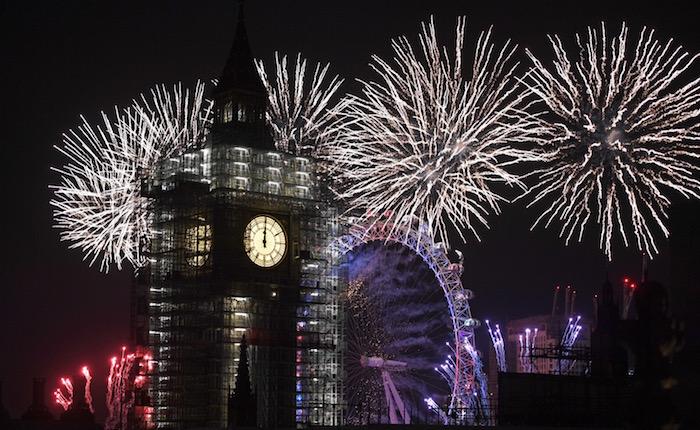 FOTOS | Llegó 2018: así se vivió el Año Nuevo en el mundo