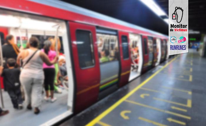 #MonitordeVíctimas | Dos personas asesinadas en menos de 15 días en el Metro de Caracas