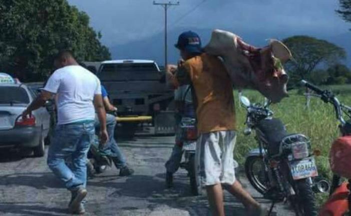 Reportan 4 fallecidos tras saqueos y revueltas en Arapuey estado Mérida