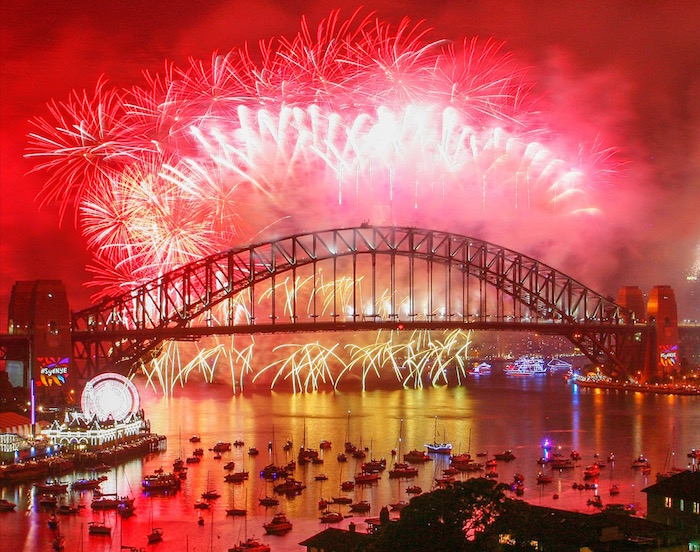 City Of Sydney Celebrates New Year's Eve 2017