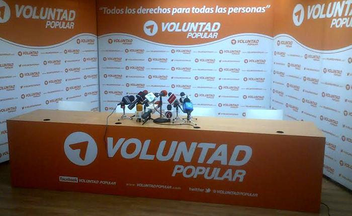 Voluntad Popular no participará en elecciones presidenciales