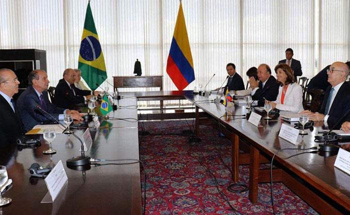 Brasil y Colombia estrecharán cooperación fronteriza ante éxodo venezolano