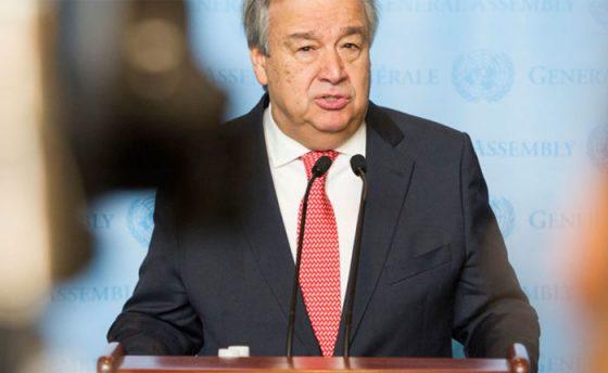 Secretario general de la ONU celebra mediación de Noruega en conversaciones entre gobierno y oposición
