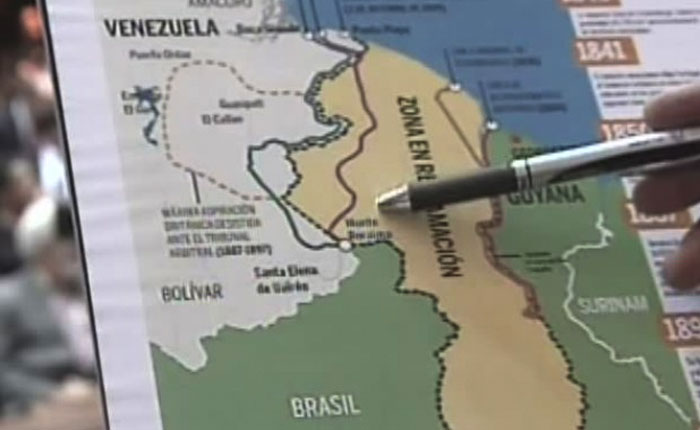 Guyana lleva disputa con Venezuela por el territorio del Esequibo a La Haya