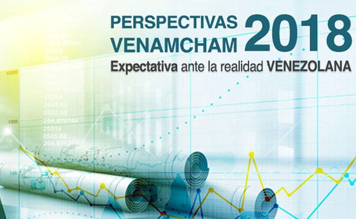 """Este #1Mar se realizará el seminario """"Perspectivas VenAmCham 2018: Expectativas ante la Realidad Venezolana"""""""