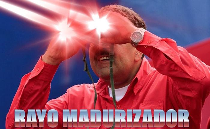 El #RayoMadurizador que viralizó los poderes de Maduro en Twitter