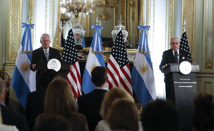 Estados Unidos y Argentina estudian implementar sanciones petroleras a Venezuela