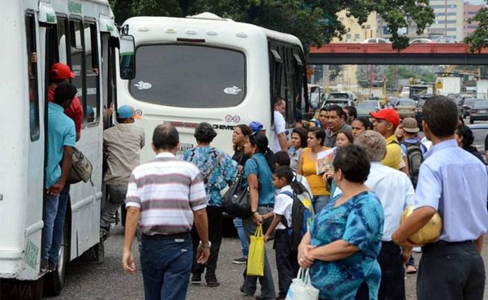 Más del 80% del transporte público presenta deterioro