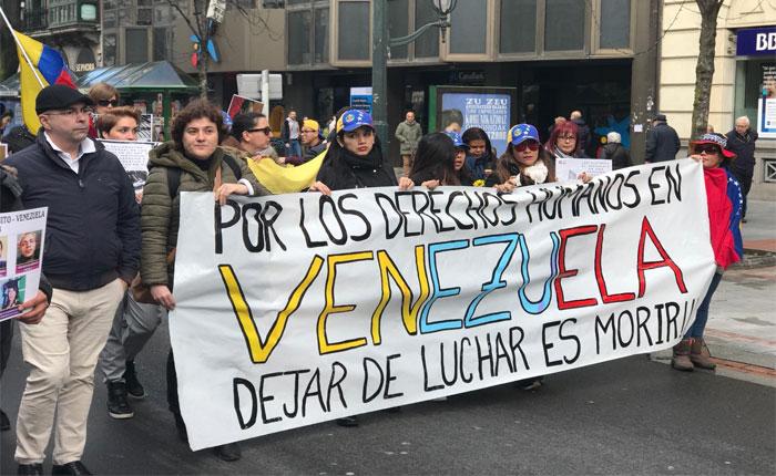 Venezolanos en el exterior protestaron en rechazo a la masacre de El Junquito