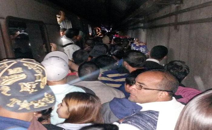 Apagón causó retraso y caos en el Metro de Caracas