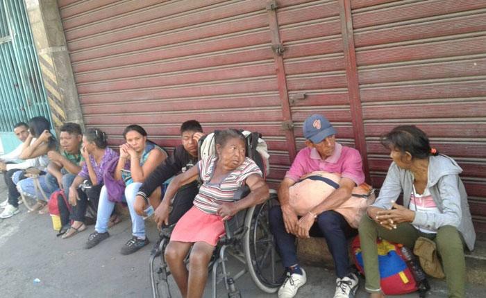 Disparan contra pacientes renales que protestan en Barquisimeto
