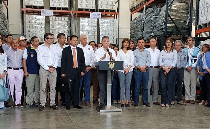 Juan Manuel Santos aseguró que medidas por el éxodo de venezolanos ya están funcionando
