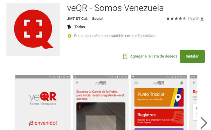 Empresa de un funcionario de Vicepresidencia detrás de la app del Carnet de la Patria