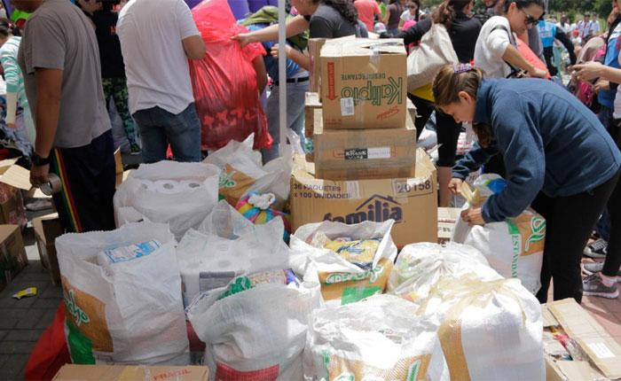 Oficialismo se niega a recibir ayuda humanitaria, por Milos Alcalay