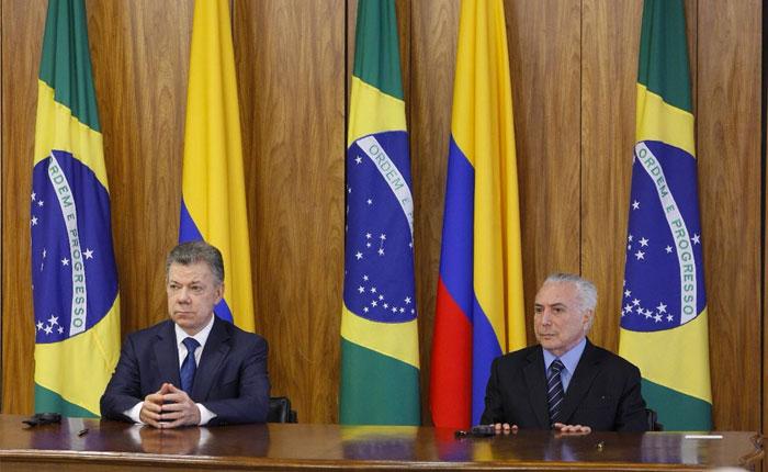 Brasil y Colombia instan al gobierno venezolano aceptar ayuda humanitaria