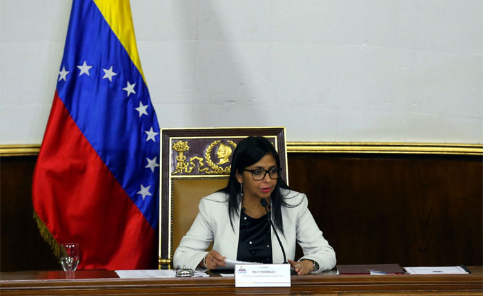 Delcy Rodríguez: Más nunca vamos a entregar el poder político