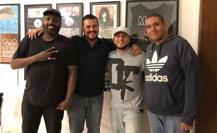 """Humano Derecho: con el rapero Eriah """"El Carnalito, el Dj Kay Rubenz y Valentina Escalona, representante de la Embajada de Suiza en Venezuela"""
