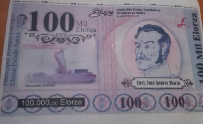 """Crean el """"Elorza"""" para cubrir la falta de efectivo en el estado Apure"""
