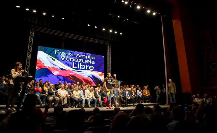 Frente Amplio Venezuela Libre pide a la ciudadanía sumarse a asambleas de calle este #17Mar