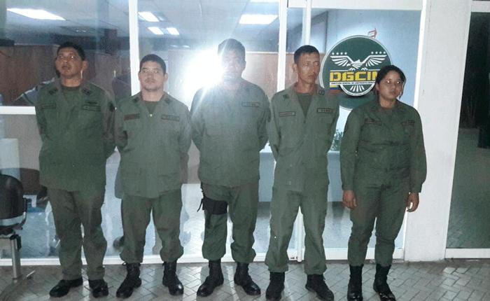 Detenidos cinco Guardias Nacionales implicados en secuestro