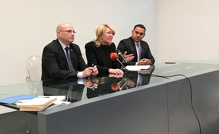 Ortega Díaz reta a El Aissami a que vaya personalmente a la Interpol a denunciarla