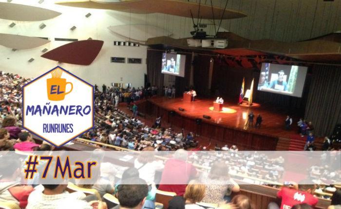 El Mañanero #7Mar: las 8 noticias que debes saber