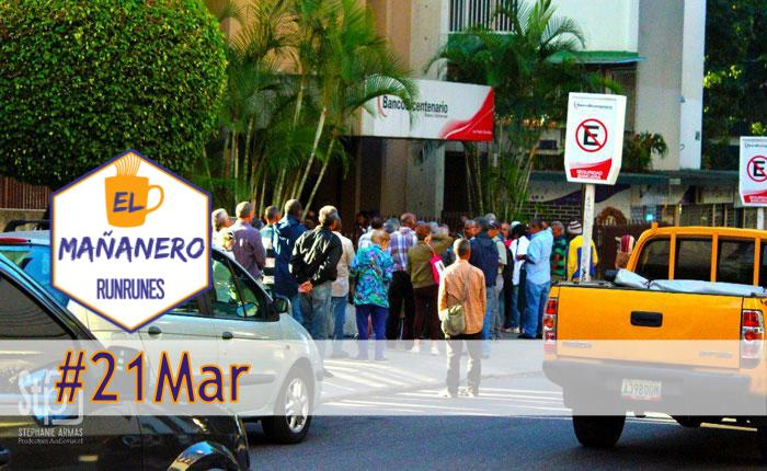 El Mañanero #21Mar: las 6 noticias que debes saber