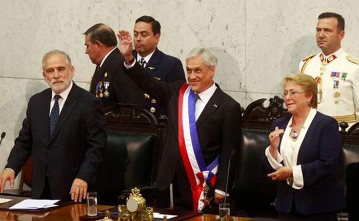 Sebastián Piñera asume por segunda vez en Chile
