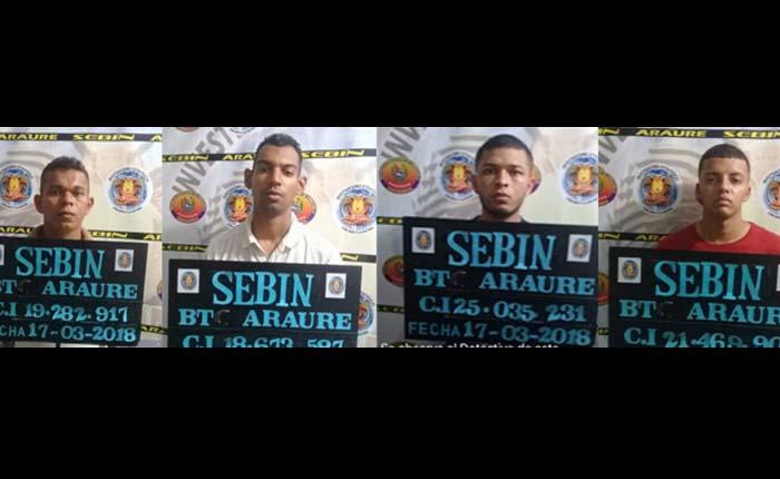 Capturan a cinco funcionarios del Sebin y a un PNB por ola de robos