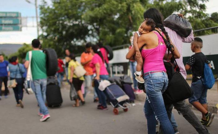EEUU aporta 2,5 millones de dólares para venezolanos en Colombia