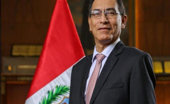 Vicepresidente de Perú confirma su regreso a ese país para jurar como presidente