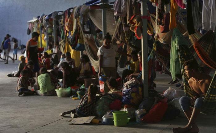Brasil se esfuerza por atender a indígenas warao venezolanos