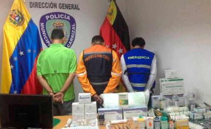 Detienen a director de Protección Civil Carrizal por tráfico de medicamentos