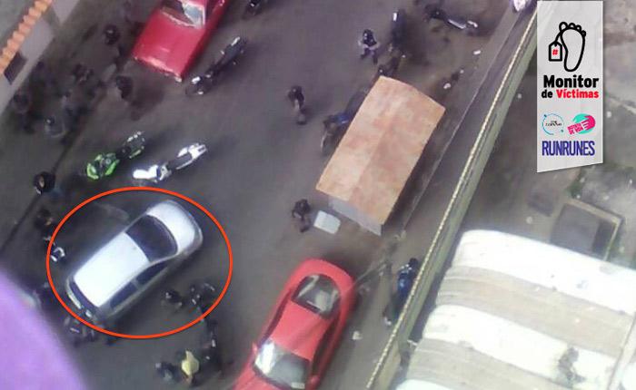 #MonitorDeVíctimas   Asesinan a miembro de las FAES dentro de un carro en Coche