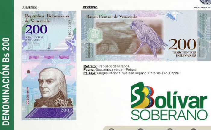 Gobierno anuncia reconversión monetaria y presenta el nuevo cono monetario