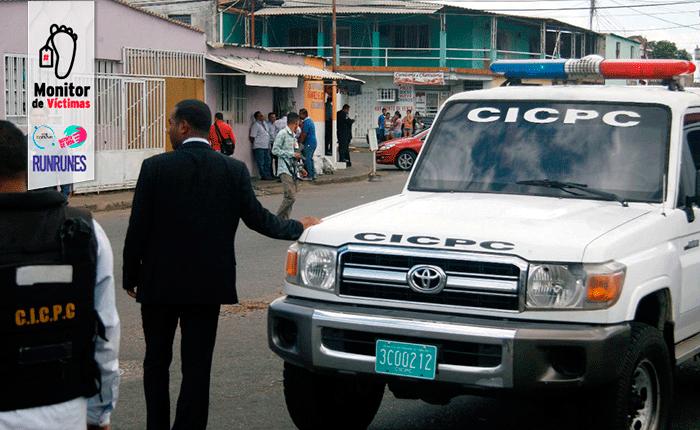 Cuatro muertos en enfrentamiento entre Cicpc y presuntos asaltantes en Tumeremo, estado Bolívar