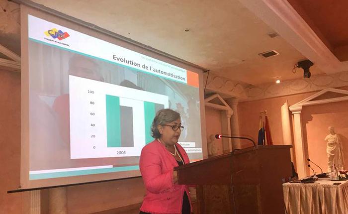 Tibisay Lucena inicia gira internacional para ratificar legitimidad de elecciones presidenciales