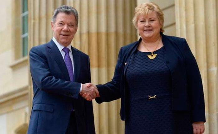 """Primera ministra de Noruega destina $1 millón a venezolanos en """"situación vulnerable"""""""