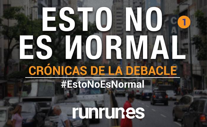 #EstoNoEsNormal El apagón y la luz