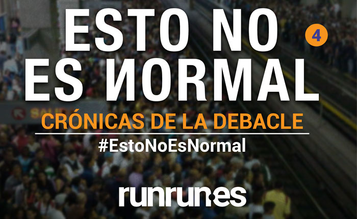 #EstoNoEsNormal  El efectivo y la mala suerte