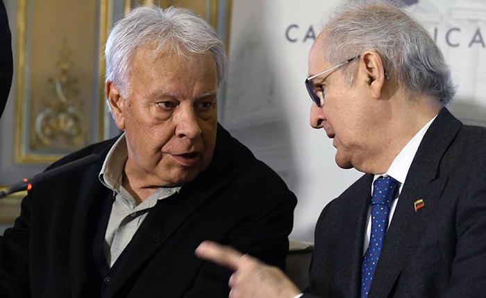 "Felipe González pide a Henri Falcón no participar en elecciones ""sin garantías"""
