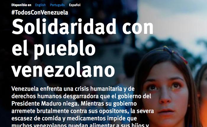 Ricardo Montaner y HRW se unen en una campaña de solidaridad por Venezuela