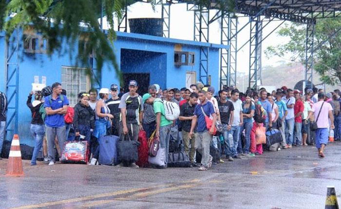 Otros 164 inmigrantes venezolanos serán trasladados a tres ciudades de Brasil